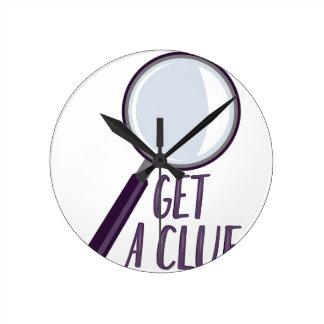 Get A Clue Clocks