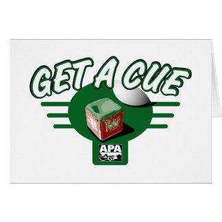 Get A Cue Card