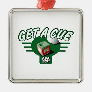 Get A Cue Christmas Ornament