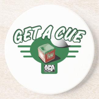 Get A Cue Coaster