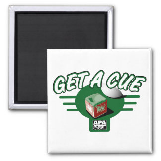 Get A Cue Square Magnet