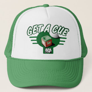 Get A Cue Trucker Hat