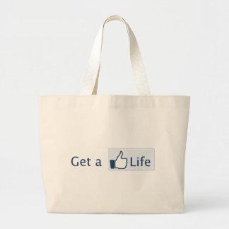 Get a Life Bags