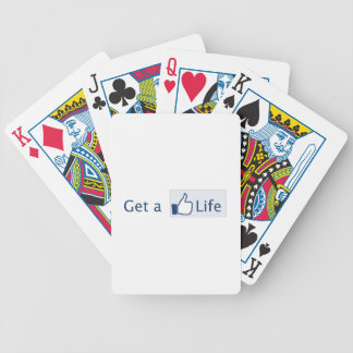 Get a Life Bicycle Poker Cards