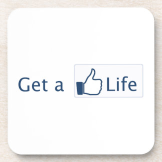 Get a Life Coasters