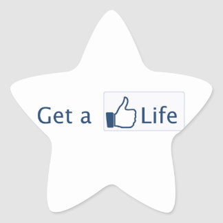 Get a Life Star Stickers