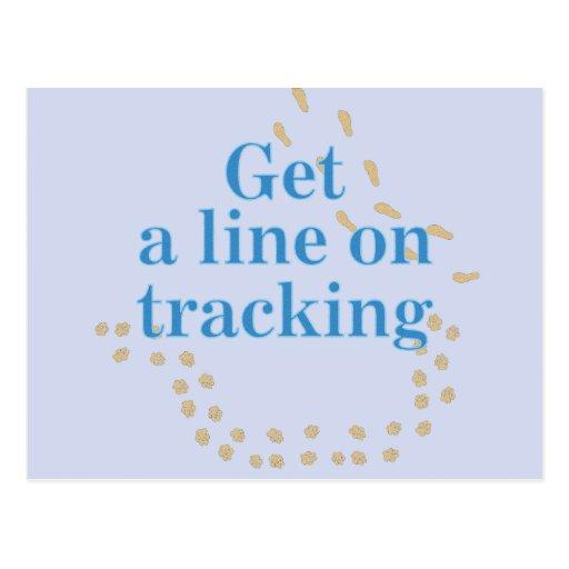 Get a Line on Tracking v2 Post Cards