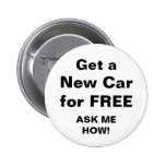 Get a New Car for FREE Button