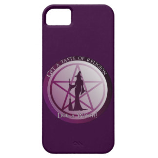 Get a taste of religion, lick a Witch iphone 5 iPhone 5 Covers