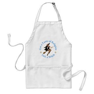 Get a Taste of Religion - Lick a Witch Standard Apron