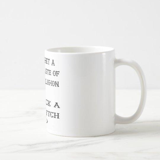 Get A Taste Religion Lick A Witch Coffee Mug