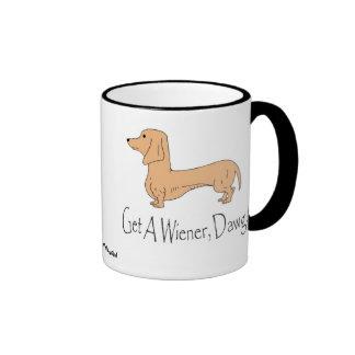 Get A Wiener, Dawg! (left-hand) Mug