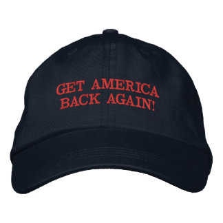 """GET AMERICA BACK AGAIN!"" BASEBALL CAP"