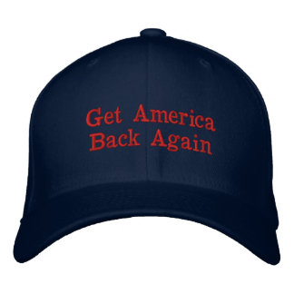 Get America Back Again Baseball Cap