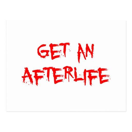 Get an Afterlife Postcard