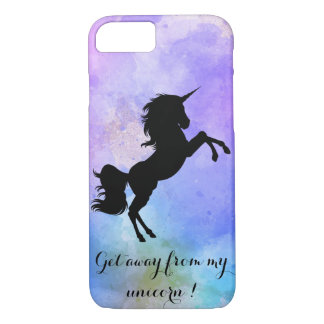 Get Away From My Unicorn Iphone Case