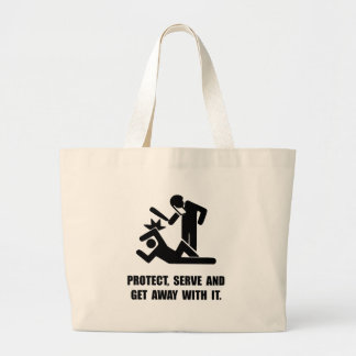Get Away With It Jumbo Tote Bag
