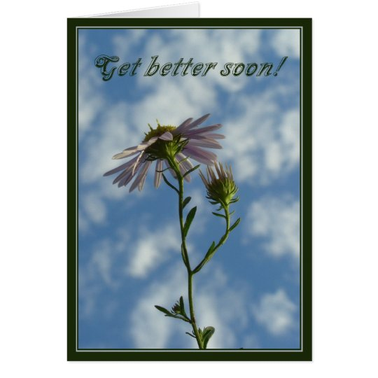 Get better soon card