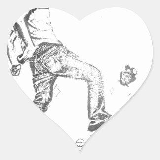 get big heart sticker