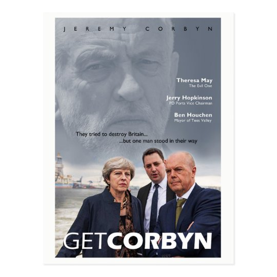 Get Corbyn Postcard