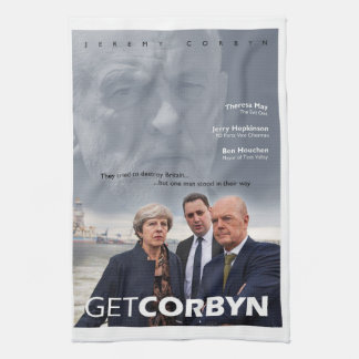 Get Corbyn Tea Towel