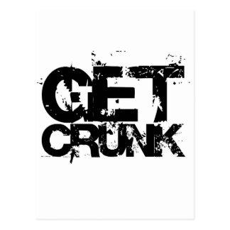 get crunk post card