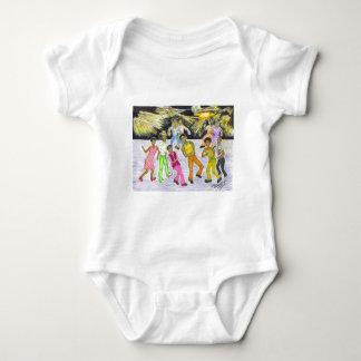 Get Down! Baby Bodysuit