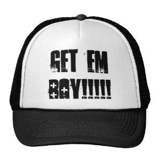 Get Em Boy  Trucker Cap Mesh Hat