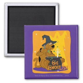 Get Ghoulish Square Magnet