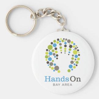 Get HandsOn Gear! Basic Round Button Key Ring