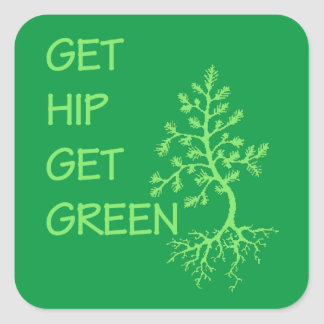 Get Hip Earth Day Stickers