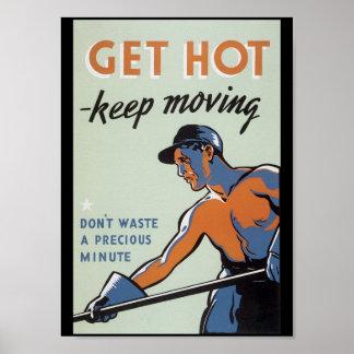 Get Hot World War 2 Poster