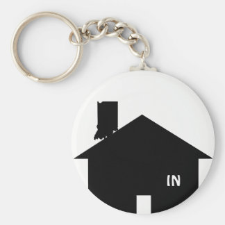 Get IN Basic Round Button Key Ring