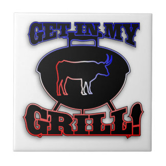 Get In My Grill American Barbecue BBQ Meat Tile