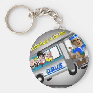 Get In the Back of the Bus Key Ring