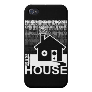 Get in the House Music Covers For iPhone 4