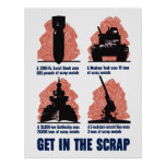 Get In The Scrap Poster