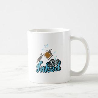 Get Inked Basic White Mug