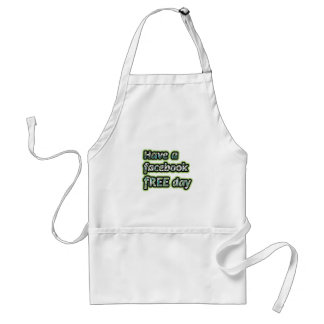 Get Inspired ~ Have a facebook Free day Apron