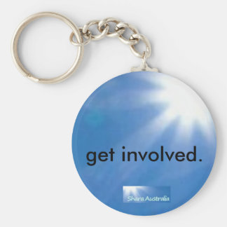 Get Involved Keychain
