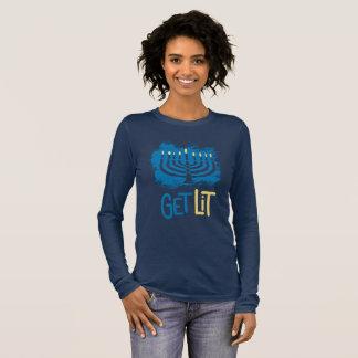 Get Lit Hanukkah Shirt