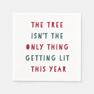 Get Lit | Holiday Disposable Napkins