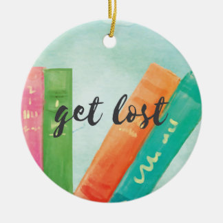 Get Lost - Christmas Ornament