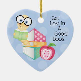 Get Lost In A Good Book Christmas Ornament