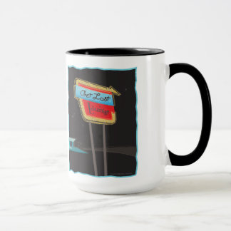 Get Lost Lounge from Route 66 Memories Mug