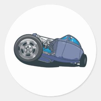 Get Low Street Rod Round Sticker