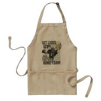 Get Lubed Up Football Adult Apron