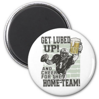 Get Lubed Up Football Refrigerator Magnets