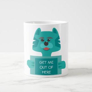 Get Me Out Of Here, Prisoner Cat Coffee Mug