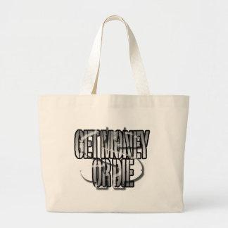 Get Money or Die Jumbo Tote Bag